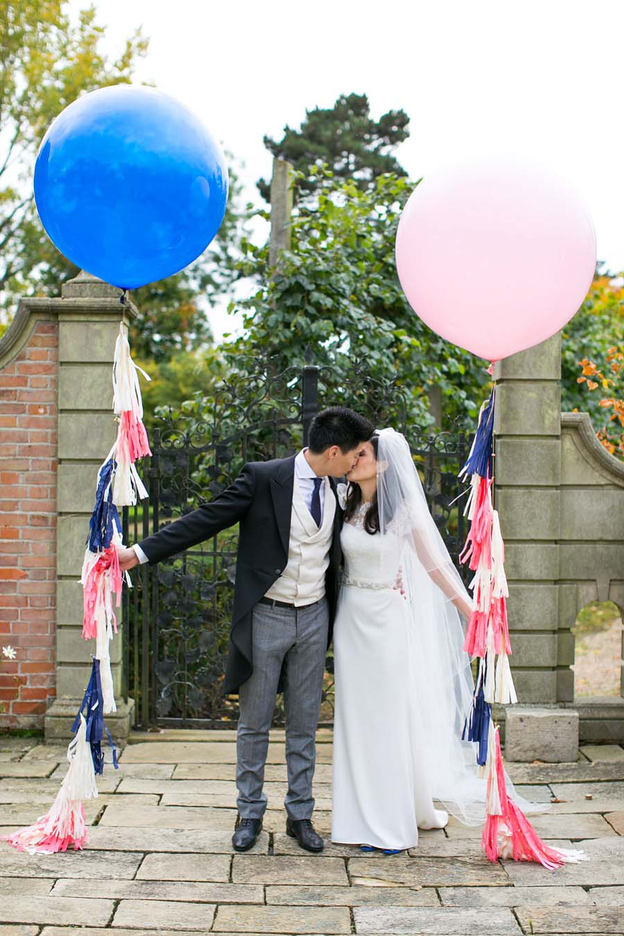navy, pink, white wedding69