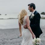 A Relaxed Beach Wedding in Devon With A Neutral Colour Scheme: Rebecca & Tom