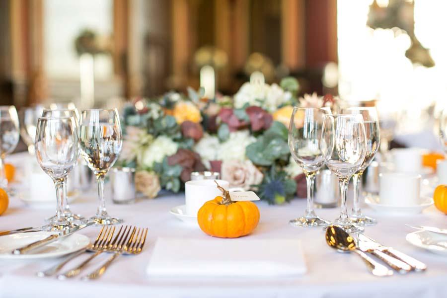 A Sunny Autumnal Wedding With Pumpkins, Lanterns & Vines: Rachel & Alex