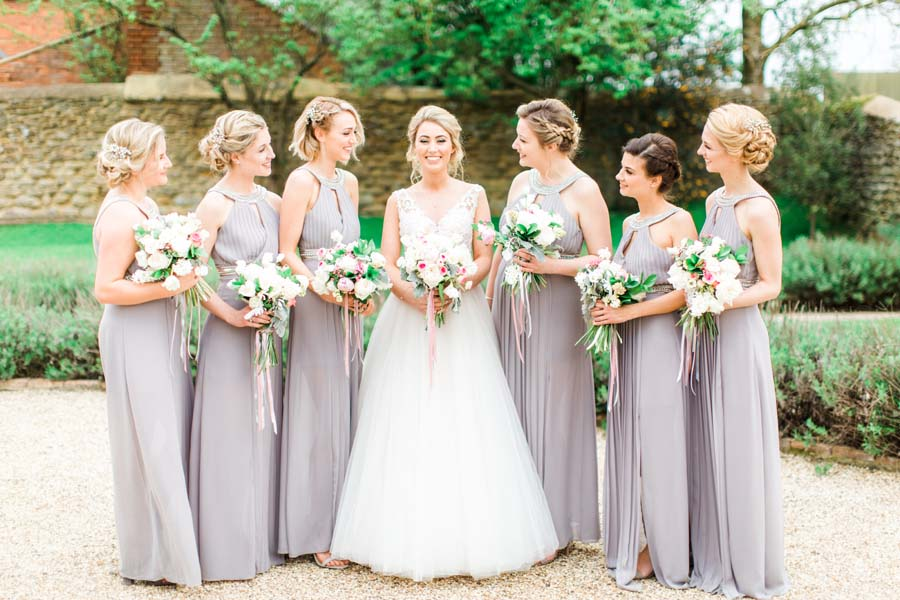 Beautifully Romantic, Blush Pink & Grey, Timeless Wedding: Sam & Jennifer