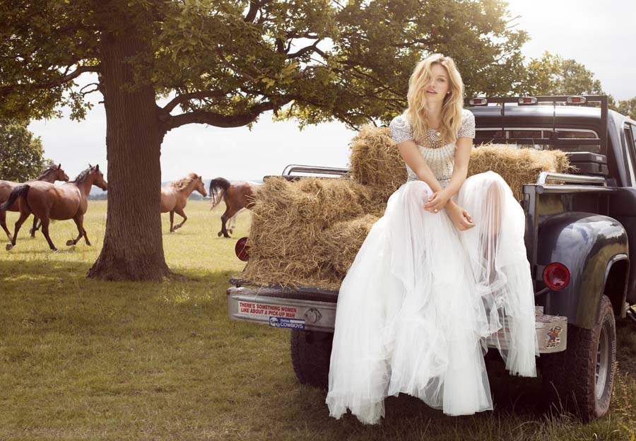 The 2017 Jenny Packham Bridal Campaign