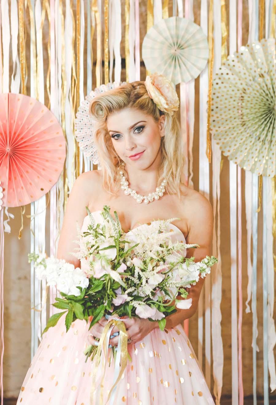 A Vintage Pastel Robot Themed Wedding Shoot Bridalpulse