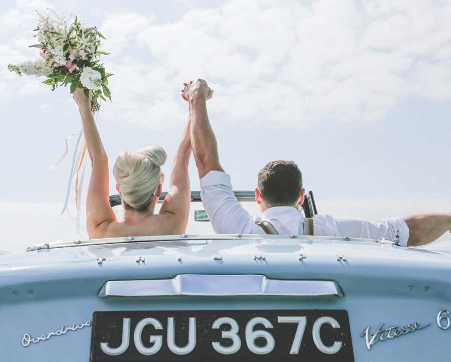 A Vintage Pastel, Robot Themed Wedding Shoot!