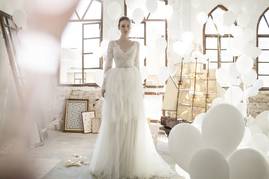 Gorgeous Ready To Wear Wedding Dresses by Noya Bridal: The Aria Collection