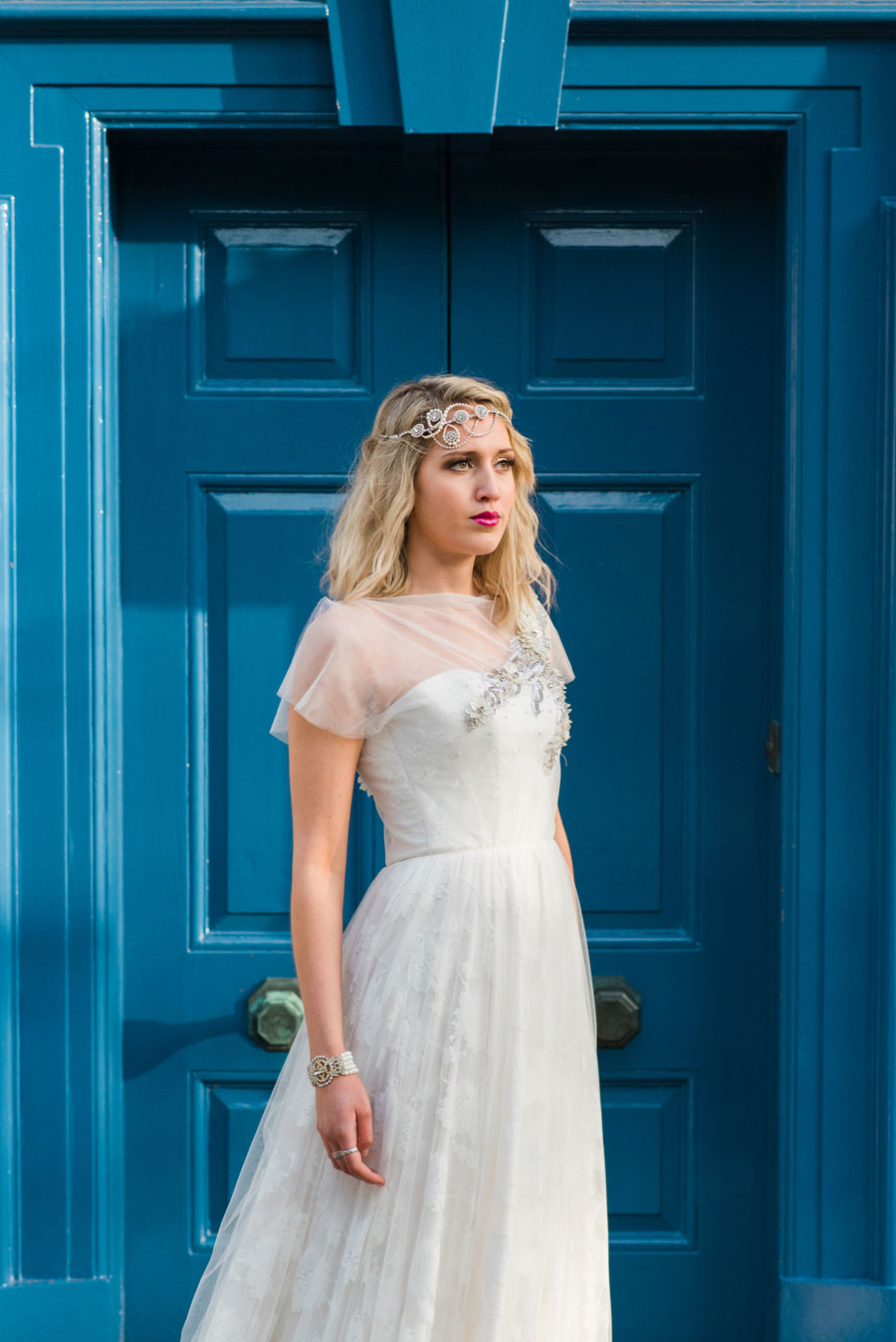 'And Then There Were None' A Contemporary Art Deco Inspired Bridal Shoot