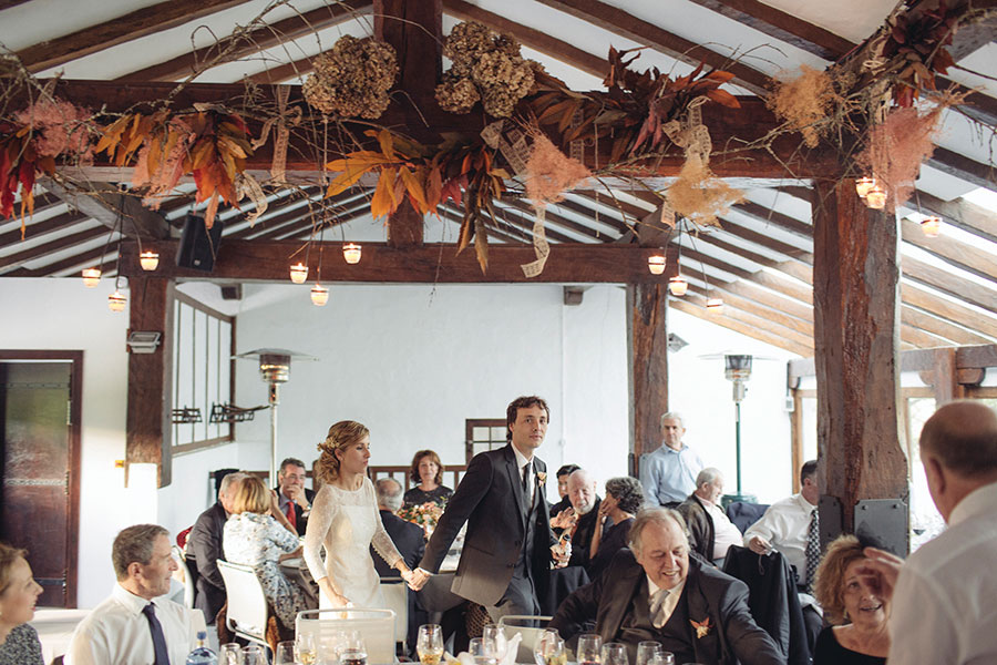 Autumnal Boho Wedding in Basque Country: Miren & Carlos