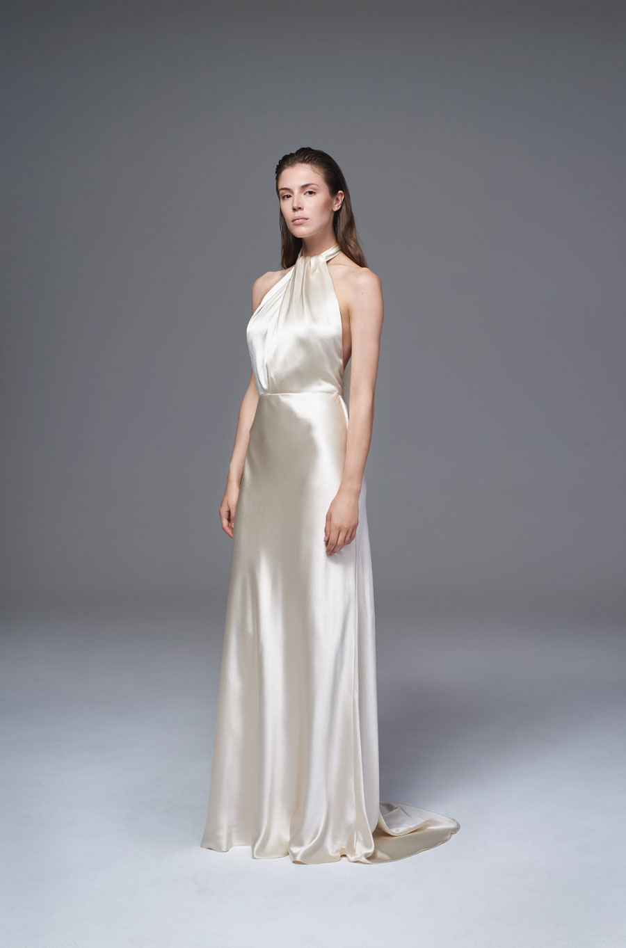 Wedding dresses 2017 the wild love collection by halfpenny london the voluminous bow jacket blurs the boundaries between bridal and fashion while the cheryl dress features a slinky bias cut with ties to wrap across ombrellifo Image collections