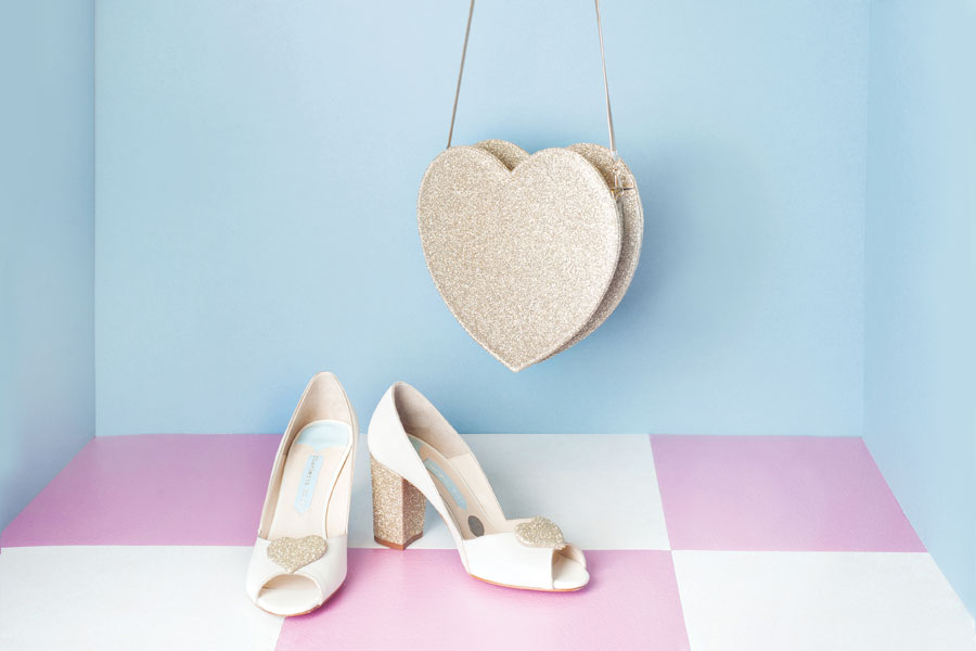 Charlotte Mills Luxury Wedding Shoe