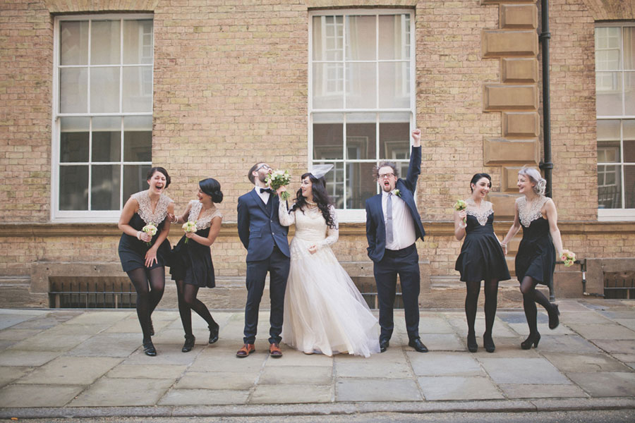Eclectic Vintage Wedding In York With 50s Style Bride Jemma Lee