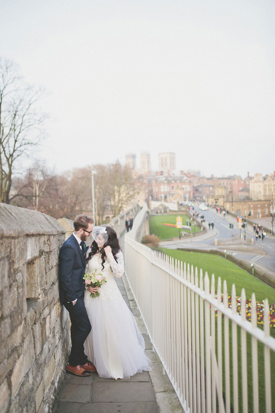 Eclectic Vintage Wedding in York With 50s Style Bride: Jemma & Lee ...
