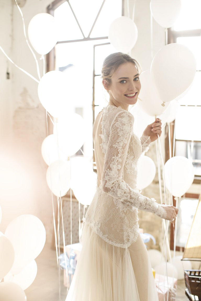 Gorgeous ready to wear wedding dresses by noya bridal the for High couture wedding dresses