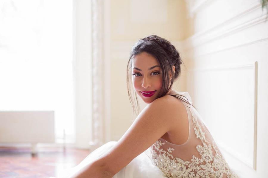 The New Wonderful: A Beautiful Botanical Styled Wedding Shoot