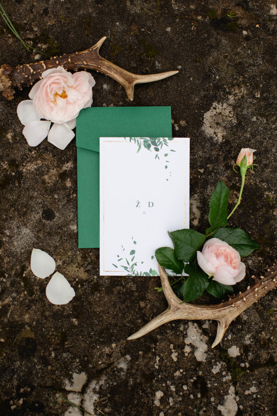 Breathtaking Blush & Green, Nature Inspired Real Wedding: Živilė and Dalius