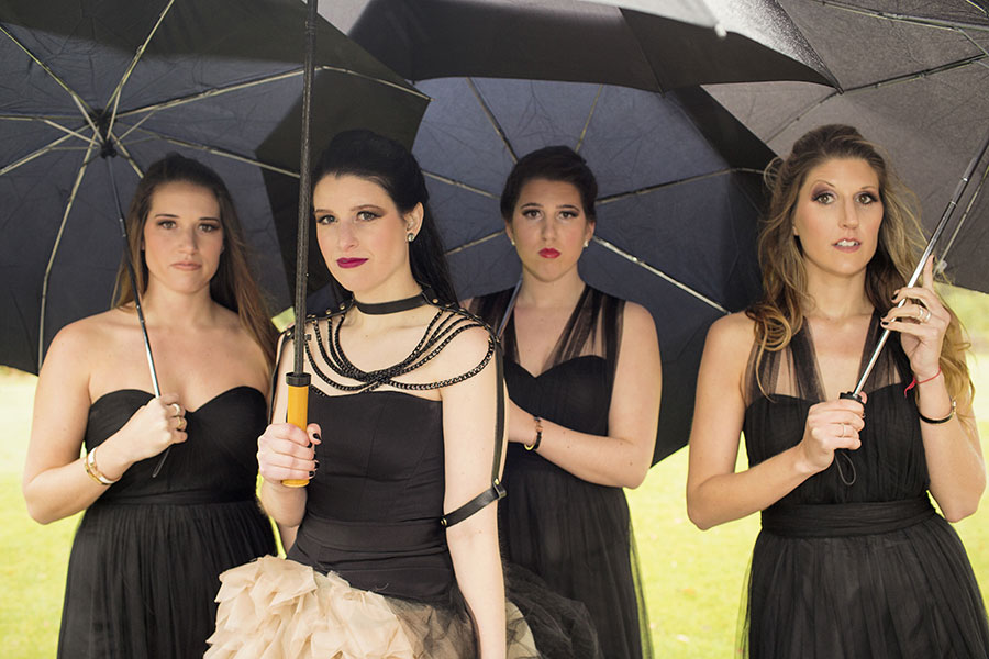 dark-sparkly-halloween-wedding-with-black-vera-wang-wedding-gown65