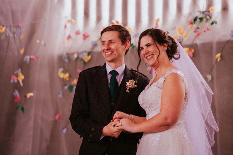 Eclectic DIY, Rustic Farm Wedding With Hunter Green Colour Scheme: Amy & Martin