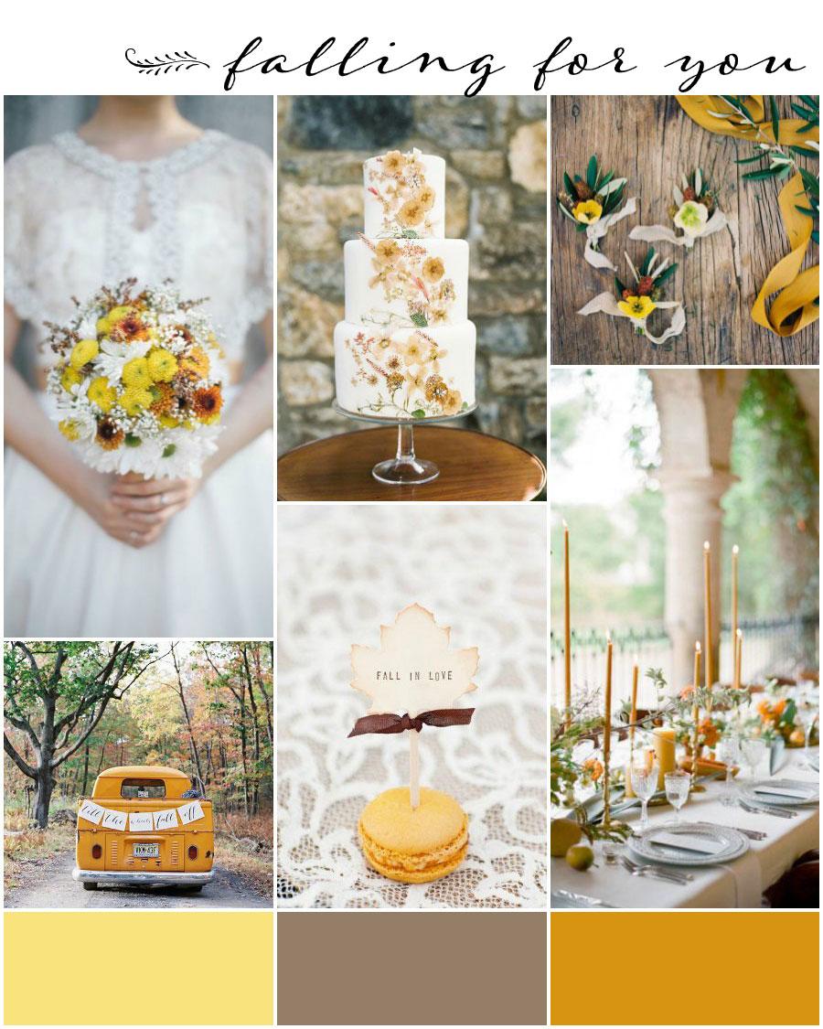 Burnt Orange And Mustard Yellow Wedding Theme Bridalpulse