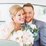 Pretty Mint Green & Soft Pink Barn Wedding: Tom & Jo