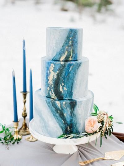 gold and blue wedding 100layercake-com-kristenjoyphotoblog-com