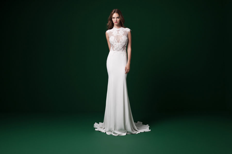 Daarlarna Couture: Paradise! Exotic, Tropical Flower Inspired Wedding Dresses