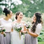 Industrial Mill Wedding With Metallic & Purple Hues: Sam & Helen