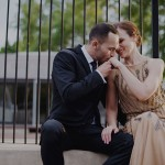 Non Traditional 'Dinner Party' Style Wedding: Werner & Leandri