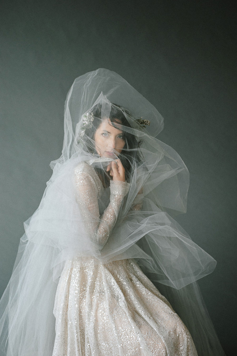 Sea & Stone Styled Bridal Editorial With Touches of Gold & Teal!