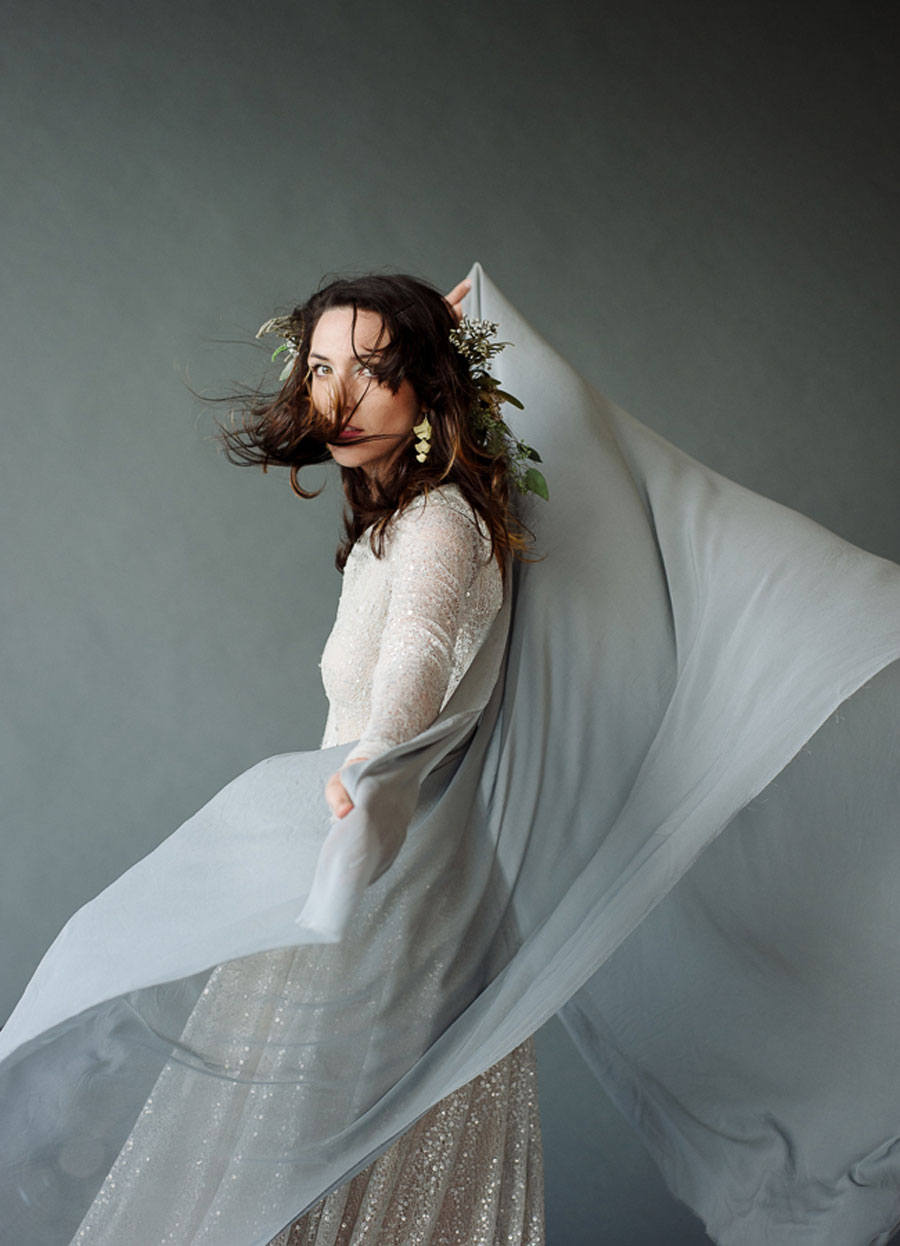 Sea & Stone Styled Bridal Editorial: Gold & Teal!