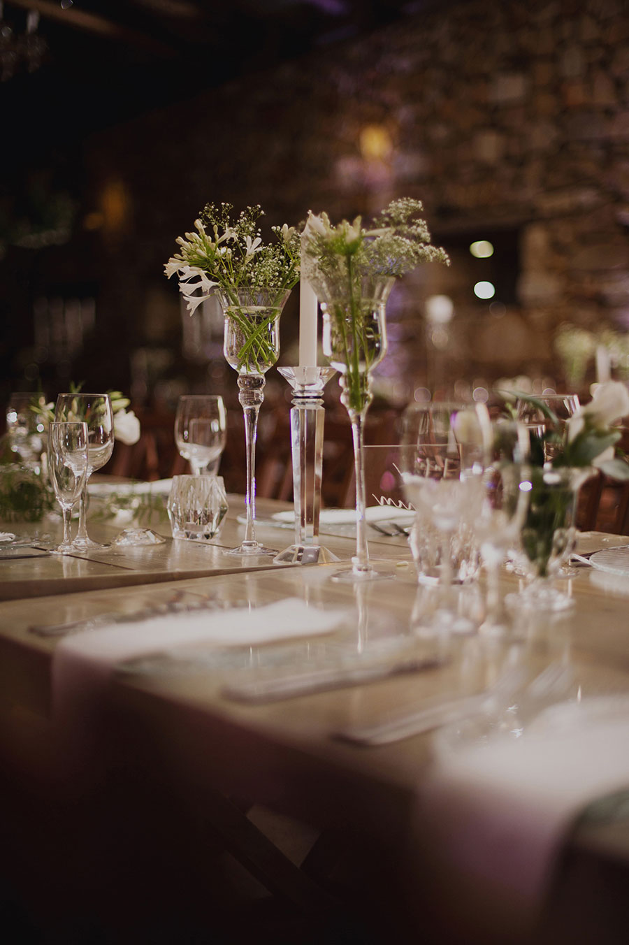A Gorgeous Glass & Crystal Inspired Organic Farm Wedding: Danie & Lin