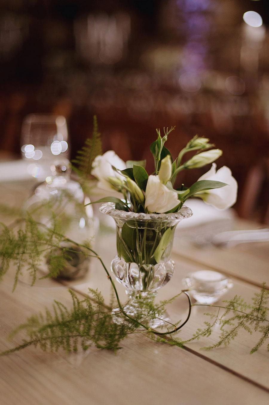 A Gorgeous Glass & Crystal Inspired Organic Farm Wedding: Danie & Lin