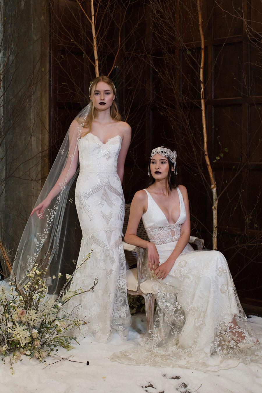 Claire Pettibone Four Seasons Wedding Dress Collection: Winter!