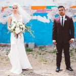 Music Inspired Glam Gold & Amethyst Wedding: Cassandra & Ernie
