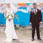 Music Inspired Glam Gold & Amethyst Wedding: Cassandra & Ernie