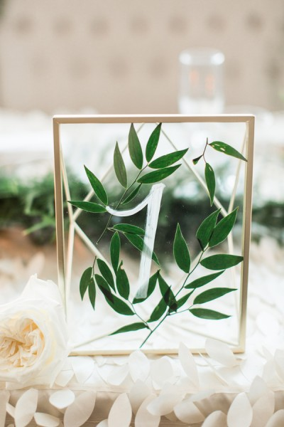 Pantone's Colour of 2017: Greenery Inspired Wedding Ideas Ruffled - photo by Samantha Jay Photography http://ruffledblog.com/enchanted-garden-wedding-ideas