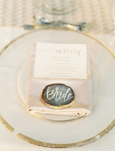How To Incorporate Gorgeous Geodes Into Your Wedding Day