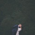A Floaty, Candlelit White Wedding in Beautiful Ruins: Calem & Gabriella