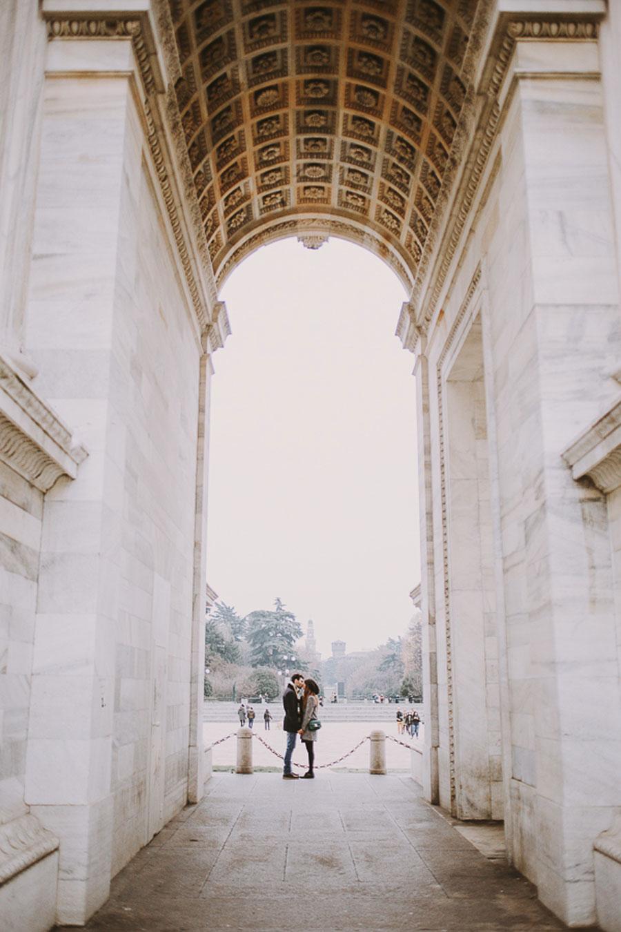 Engagement Sessions // Beautiful Milano Love Story! Floriana & Mario