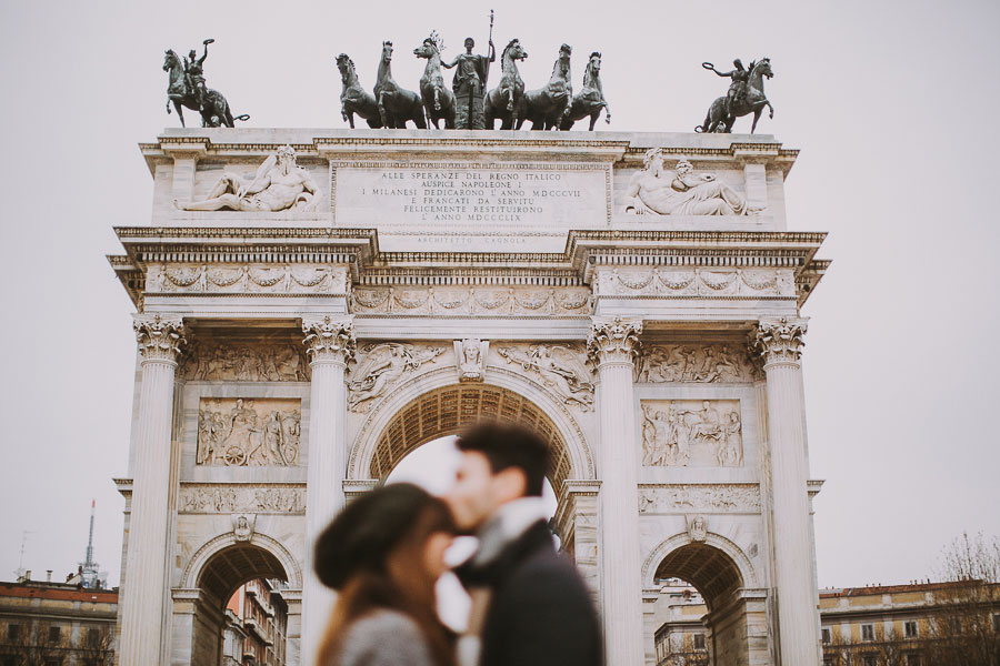 Engagagement Sessions // Beautiful Milano Love Story! Floriana & Mario
