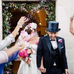 Super Colourful Bougainvillea & Oranges Destination Wedding in Puglia, Italy!