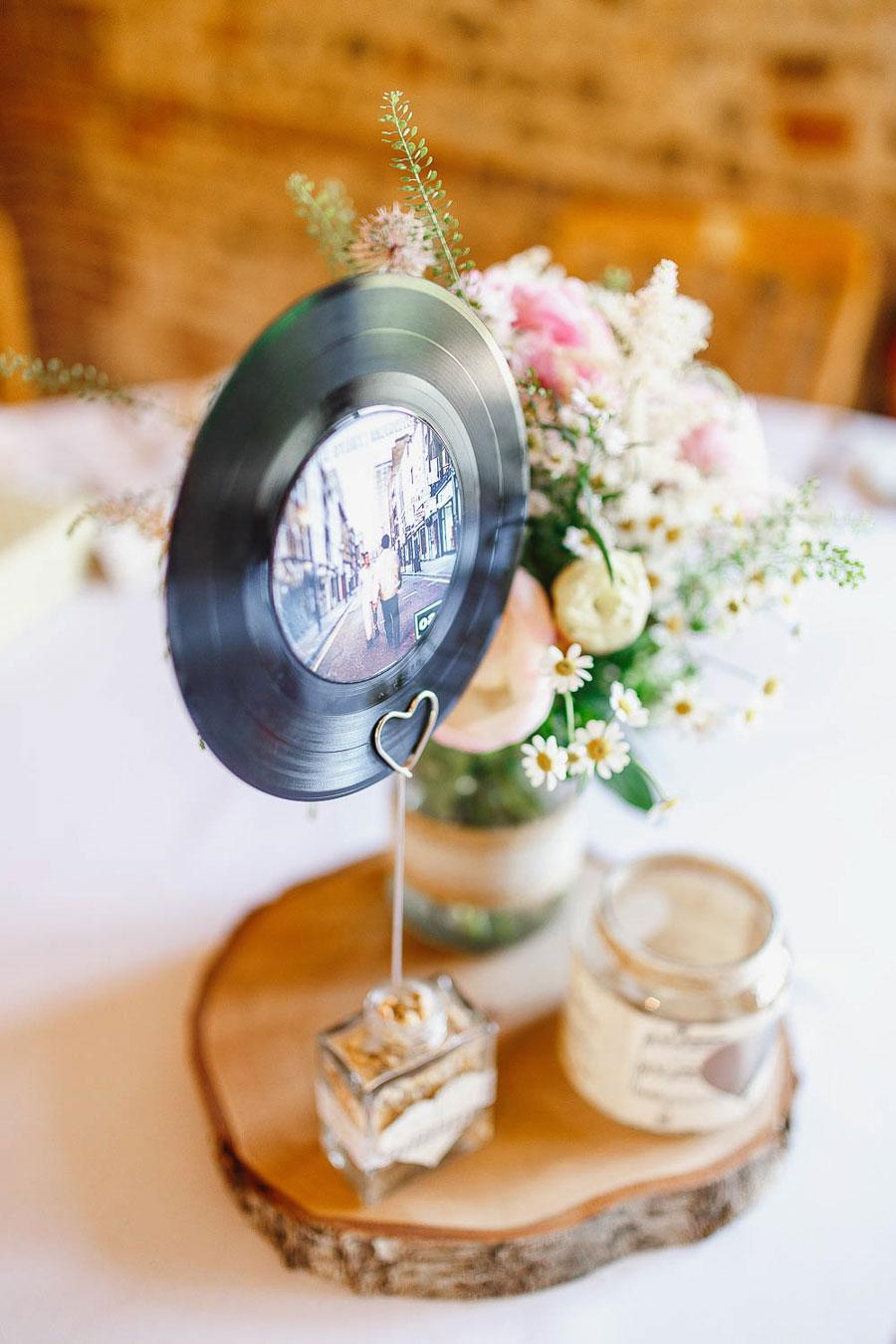 Pastel Pretty Music Inspired Barn Wedding- Kirsty & Ben