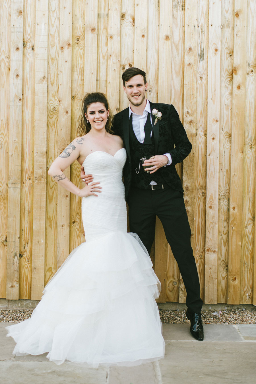 Romantic Blush Wedding With Quirky Details & Gorgeous Tattooed Bride ...