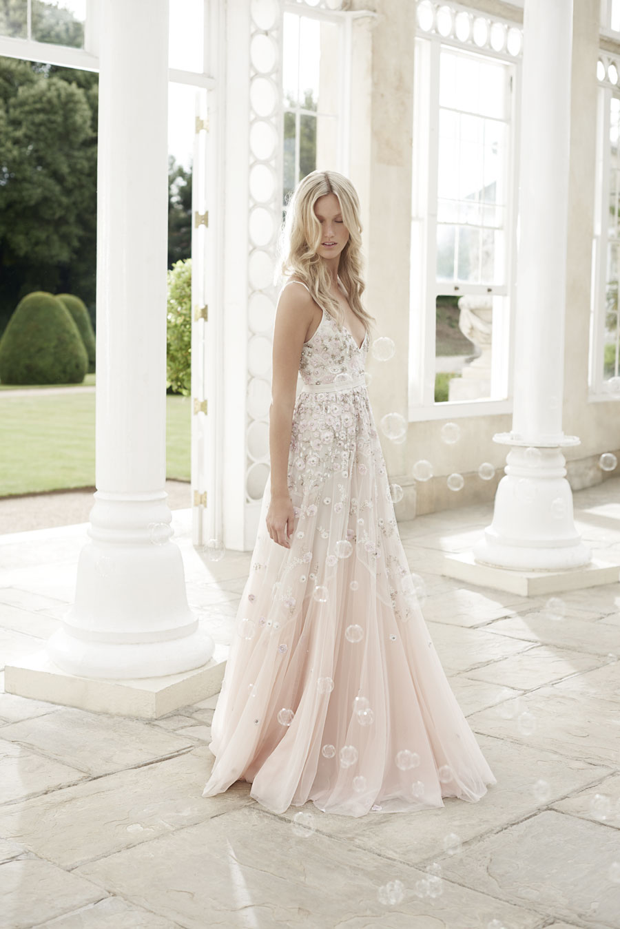 Wonderfully romantic wedding dresses the needle thread for Summer dresses for weddings