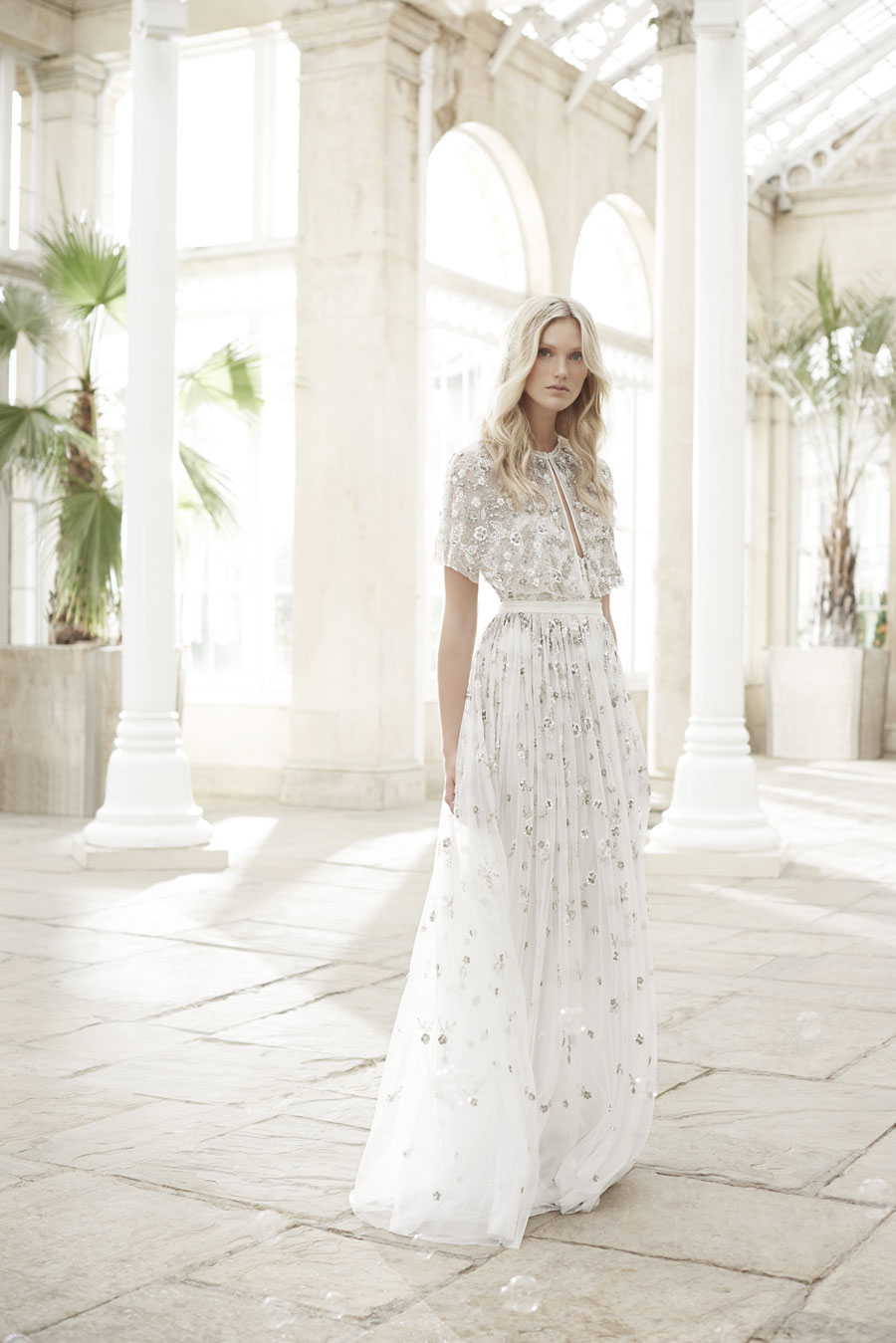 Wonderfully romantic wedding dresses the needle thread spring the 11 piece range embraces a contemporary fluidity through soft structures embellished clusters of delicate beadwork uttering sophistication and elegance ombrellifo Image collections