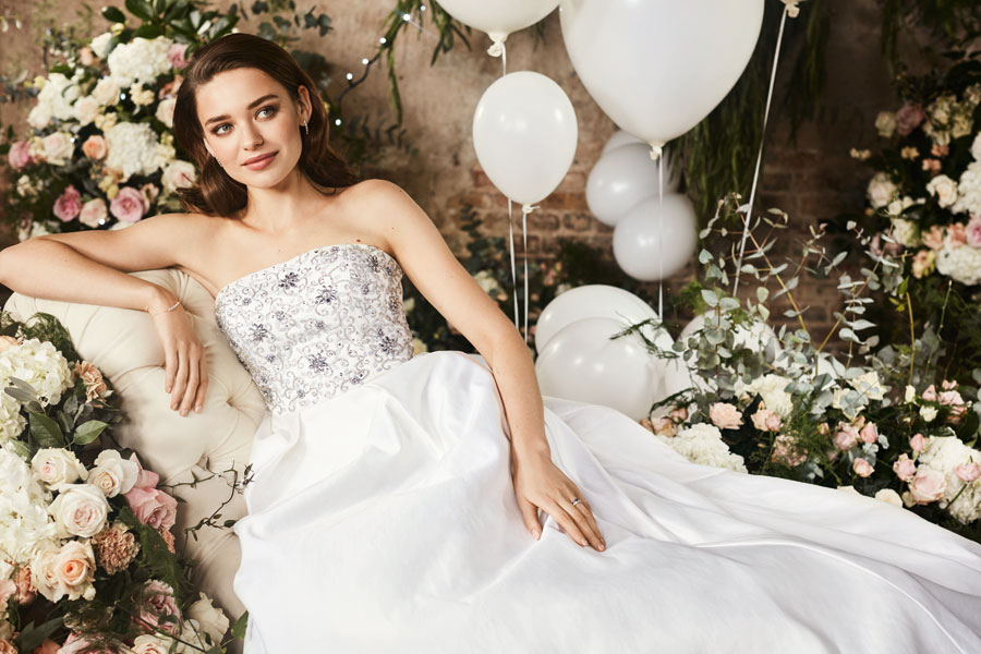 Exclusive Ted Baker Wedding Dress Capsule Collection for 2017!