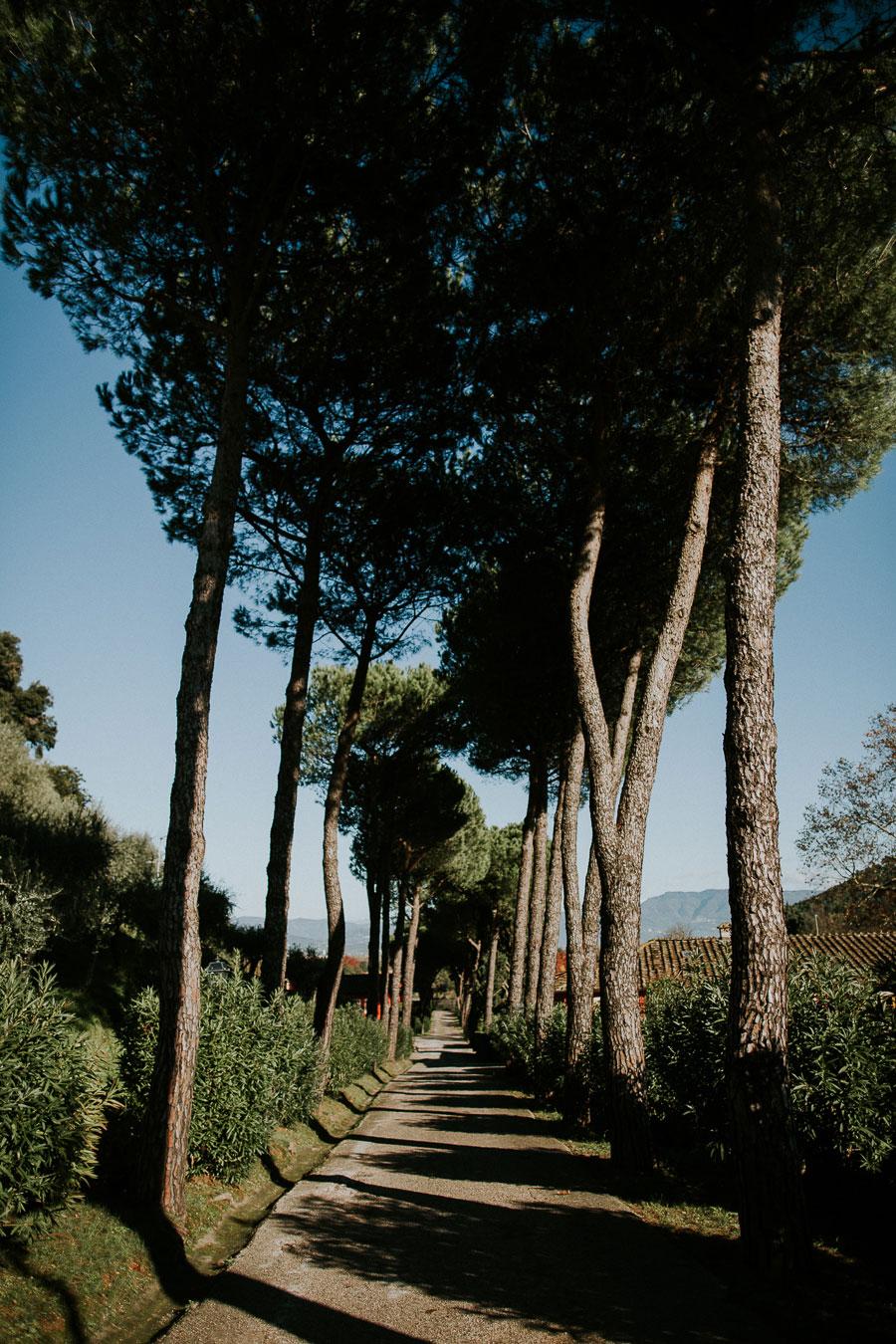 A Dark & Decadent Winter Bridal Shoot in 19th Century Tuscan Villa