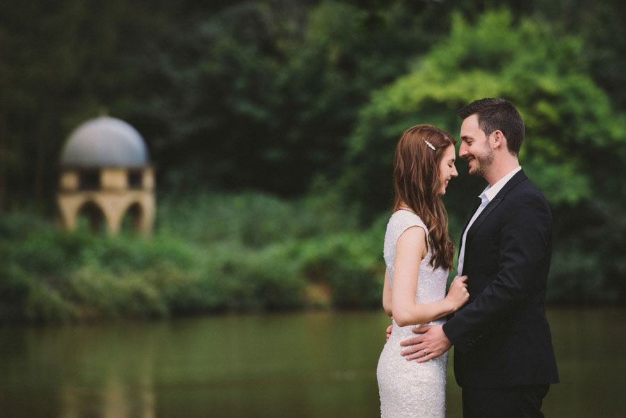 An Elegant Black, White & Gold Wedding With A Bride In Sequin Dress- Heather & Michael