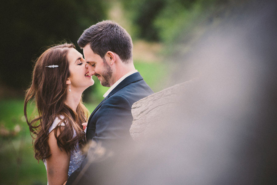 An Elegant Black, White & Gold Wedding With A Bride In Sequin Dress: Heather & Michael