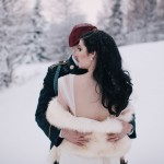 Dark & Romantic, Jewel Toned Wedding in Alaska: Caitlin & Jason