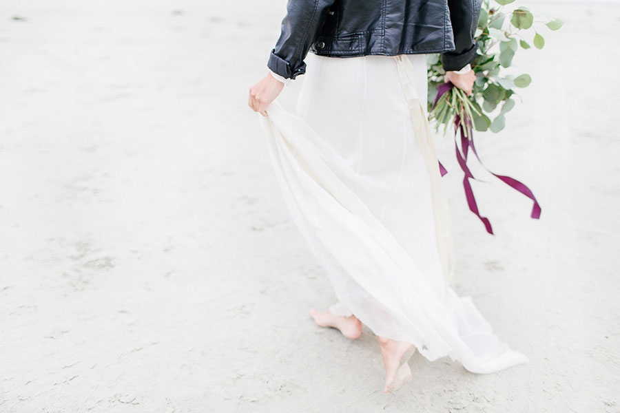 Down By The Sea! A Free-Spirited Elopement Editorial Shoot0012