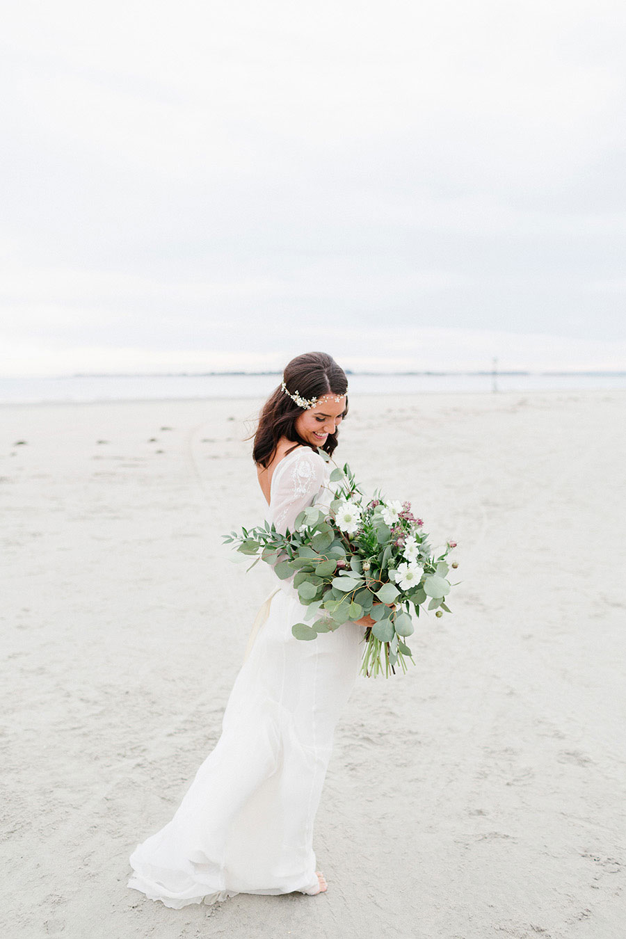 Down By The Sea! A Free-Spirited Elopement Editorial Shoot0030