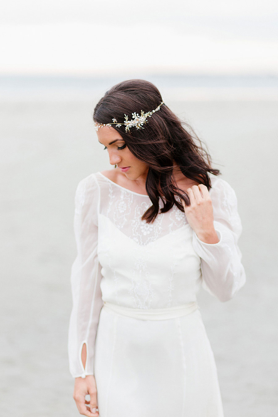 Down By The Sea! A Free-Spirited Elopement Editorial Shoot0035